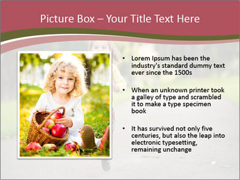 Happy Child Running PowerPoint Templates - Slide 13