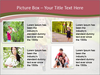 Happy Child Running PowerPoint Templates - Slide 14