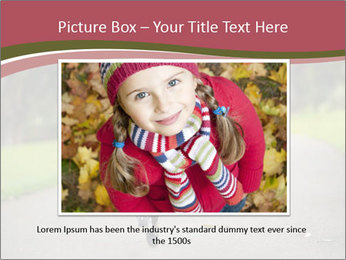 Happy Child Running PowerPoint Templates - Slide 15