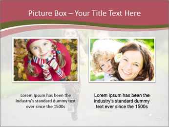Happy Child Running PowerPoint Templates - Slide 18
