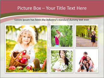Happy Child Running PowerPoint Templates - Slide 19