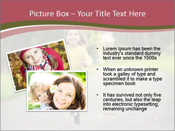 Happy Child Running PowerPoint Templates - Slide 20