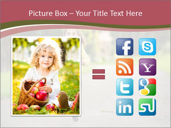 Happy Child Running PowerPoint Templates - Slide 21