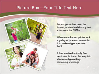 Happy Child Running PowerPoint Templates - Slide 23