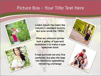 Happy Child Running PowerPoint Templates - Slide 24