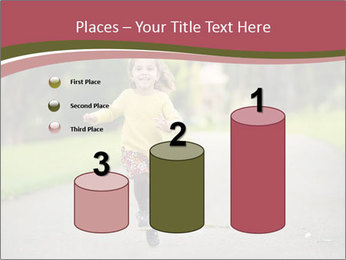 Happy Child Running PowerPoint Templates - Slide 65