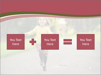 Happy Child Running PowerPoint Templates - Slide 95