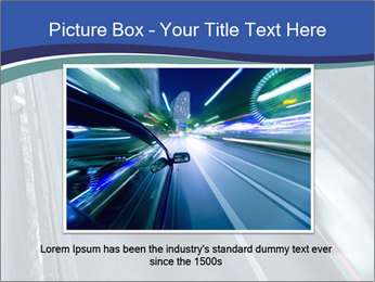 Traffic on a highway PowerPoint Templates - Slide 16