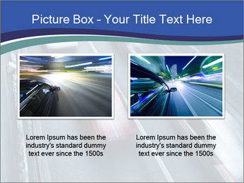 Traffic on a highway PowerPoint Templates - Slide 18