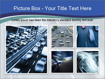 Traffic on a highway PowerPoint Templates - Slide 19