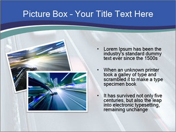 Traffic on a highway PowerPoint Templates - Slide 20