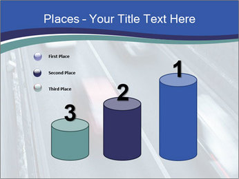 Traffic on a highway PowerPoint Templates - Slide 65