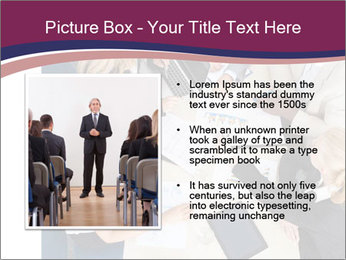 Businesspeople Discussing Together PowerPoint Templates - Slide 13