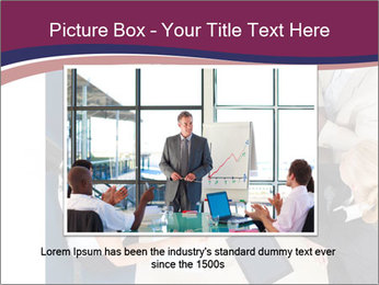 Businesspeople Discussing Together PowerPoint Templates - Slide 16