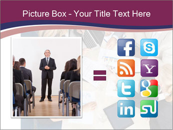 Businesspeople Discussing Together PowerPoint Templates - Slide 21