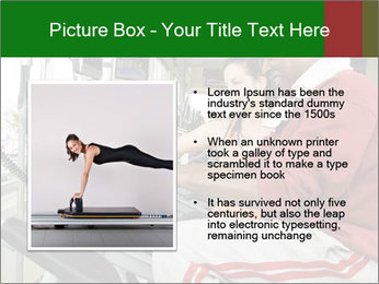 Female instructor assisting senior man PowerPoint Template - Slide 13