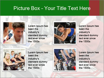 Female instructor assisting senior man PowerPoint Templates - Slide 14