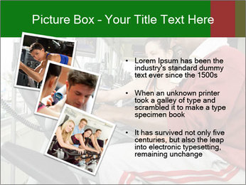 Female instructor assisting senior man PowerPoint Templates - Slide 17