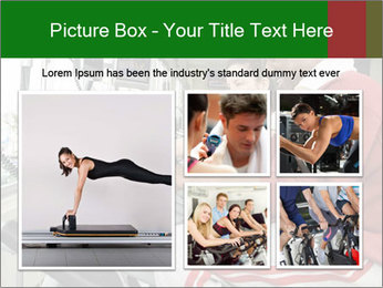Female instructor assisting senior man PowerPoint Template - Slide 19
