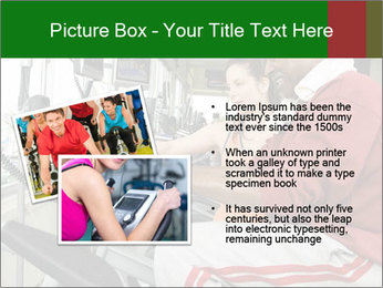 Female instructor assisting senior man PowerPoint Template - Slide 20