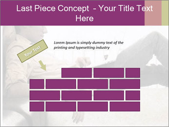 Artwork in grunge style PowerPoint Template - Slide 46