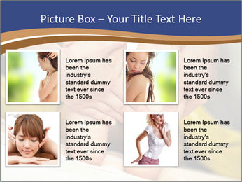 Foot massage for a woman PowerPoint Templates - Slide 14