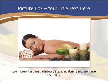Foot massage for a woman PowerPoint Templates - Slide 15