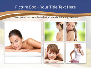 Foot massage for a woman PowerPoint Templates - Slide 19