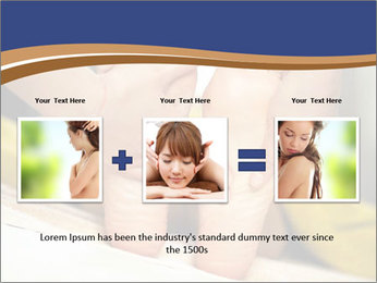 Foot massage for a woman PowerPoint Templates - Slide 22