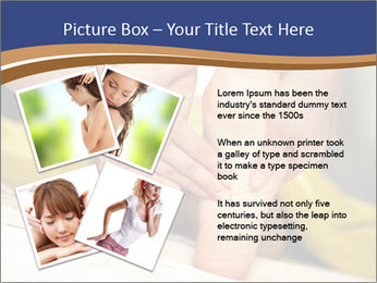 Foot massage for a woman PowerPoint Templates - Slide 23