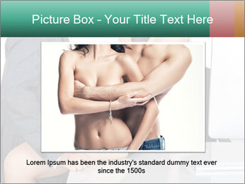 Couple having sex in office PowerPoint Templates - Slide 16