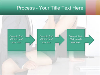 Couple having sex in office PowerPoint Template - Slide 88