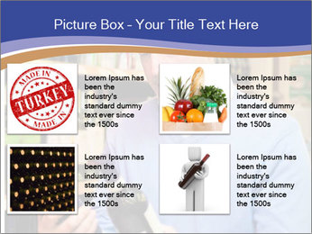 Man choosing the right wine PowerPoint Template - Slide 14