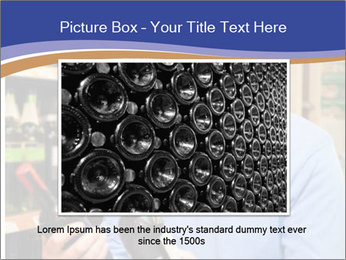 Man choosing the right wine PowerPoint Templates - Slide 15