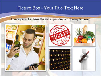 Man choosing the right wine PowerPoint Template - Slide 19