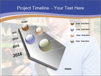 Man choosing the right wine PowerPoint Template - Slide 26