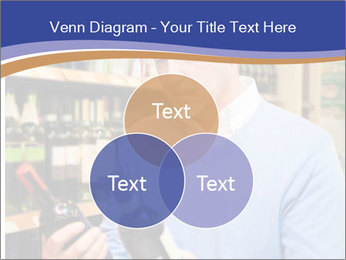 Man choosing the right wine PowerPoint Template - Slide 33