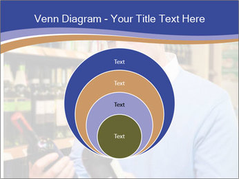 Man choosing the right wine PowerPoint Template - Slide 34