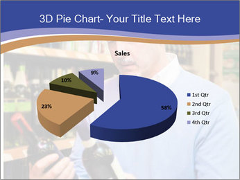 Man choosing the right wine PowerPoint Template - Slide 35