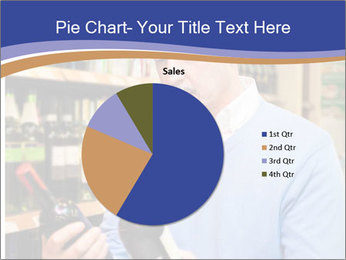 Man choosing the right wine PowerPoint Template - Slide 36