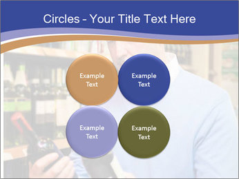 Man choosing the right wine PowerPoint Template - Slide 38
