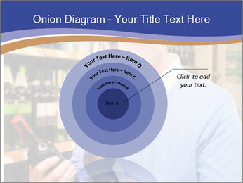 Man choosing the right wine PowerPoint Template - Slide 61