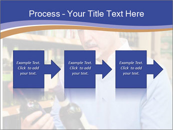 Man choosing the right wine PowerPoint Template - Slide 88