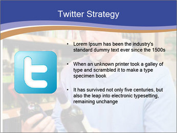 Man choosing the right wine PowerPoint Template - Slide 9