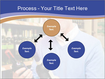 Man choosing the right wine PowerPoint Template - Slide 91