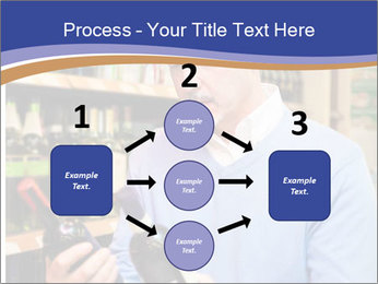 Man choosing the right wine PowerPoint Template - Slide 92