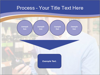 Man choosing the right wine PowerPoint Template - Slide 93