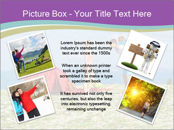 Happy family camping in mountains PowerPoint Templates - Slide 24