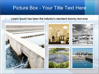 Modern urban wastewater treatment PowerPoint Template - Slide 19