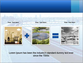 Modern urban wastewater treatment PowerPoint Template - Slide 22